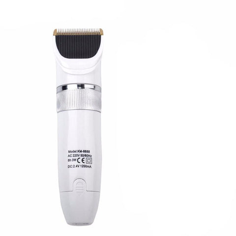 Image of Titanium Blade Electric Hair Trimmer - Adjustable - 4 Limit Combs-shavercentre.com.au