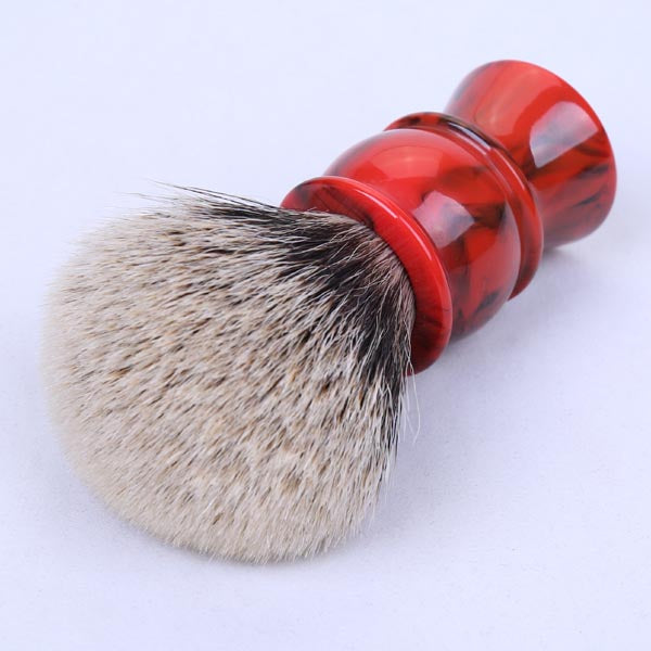 Two Band Badger Hair Shaving Brush-shavercentre.com.au