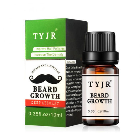 Image of Beard Oil - Fast Growth 10ml-shavercentre.com.au