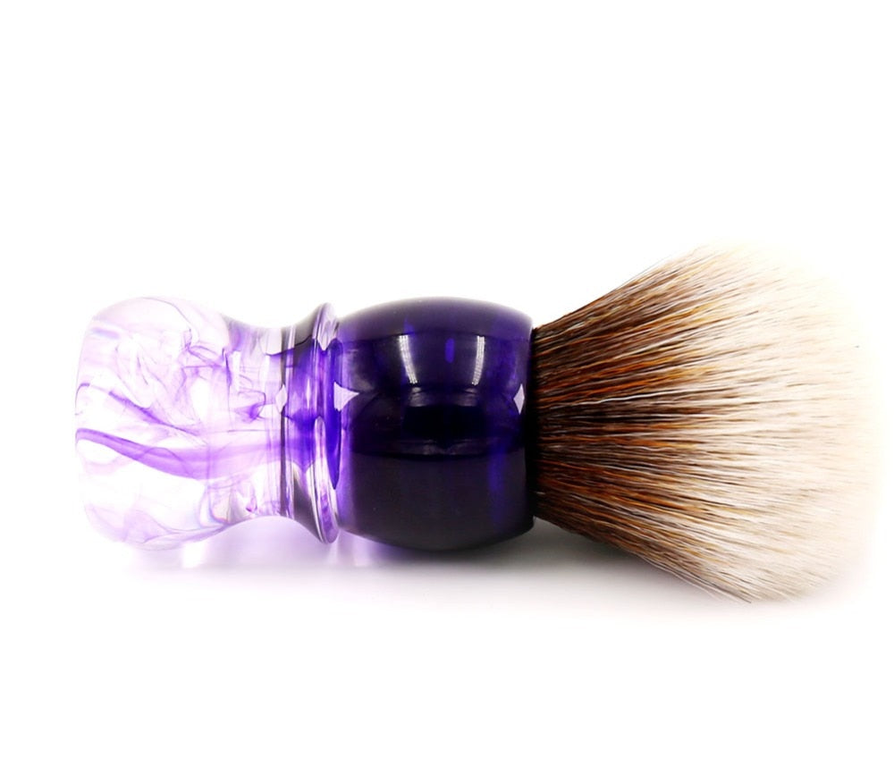 Purple Haze Shaving Brush-shavercentre.com.au