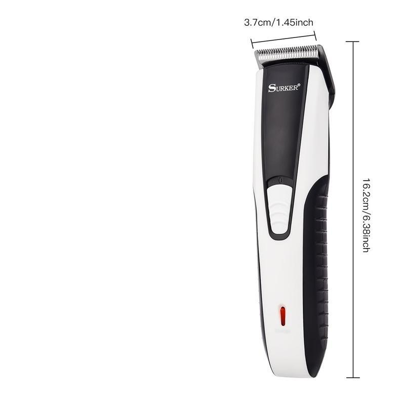 Low Noise Beard Trimmer - Hair Clipper - Anti Stuck - No Pause-shavercentre.com.au