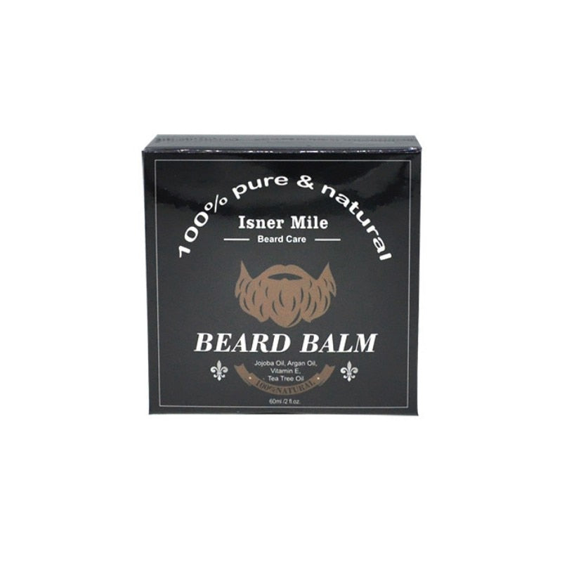 Isner Mile Beard Balm 60g - 100% Natural-shavercentre.com.au