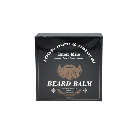 Image of Isner Mile Beard Balm 60g - 100% Natural-shavercentre.com.au