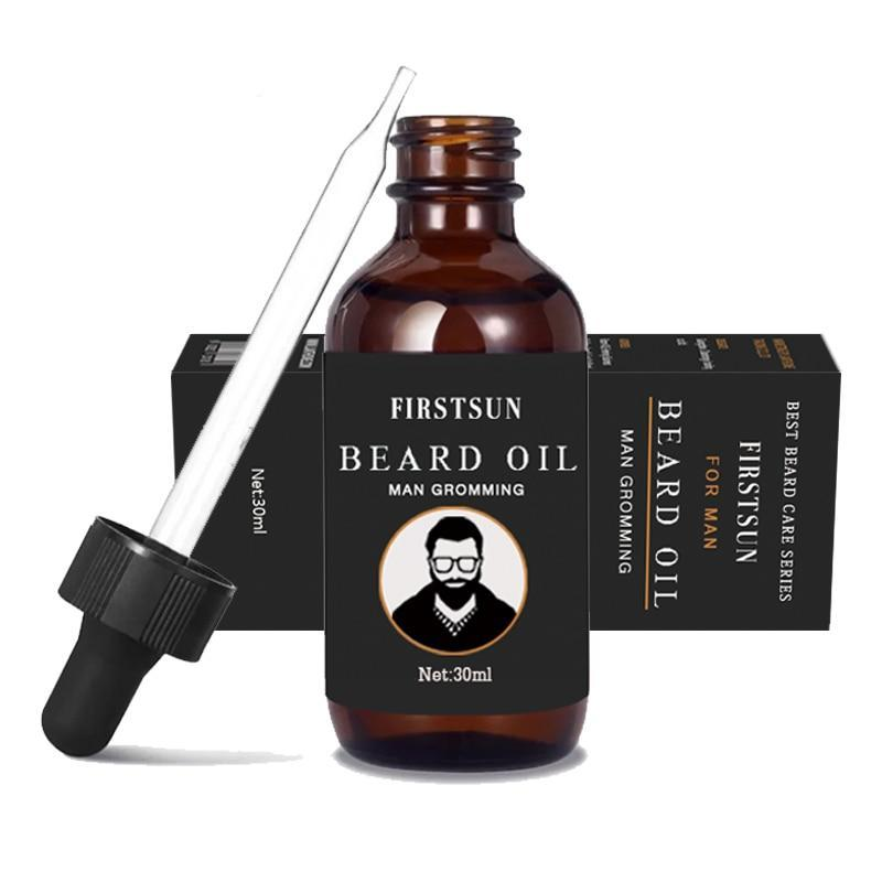 FirstSun Organic Moustache And Beard Oil-shavercentre.com.au