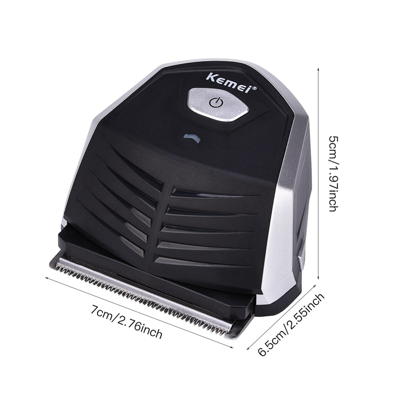 Electric Hair Clipper - 0mm Bald Head Option - Compact-shavercentre.com.au