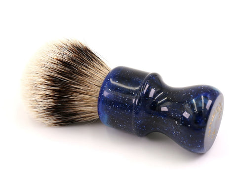 Space Silvertip Badger Shaving Brush-shavercentre.com.au