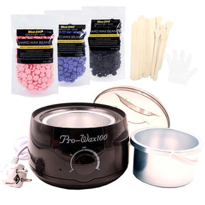 Black Waxing Set - Wax Heater-shavercentre.com.au