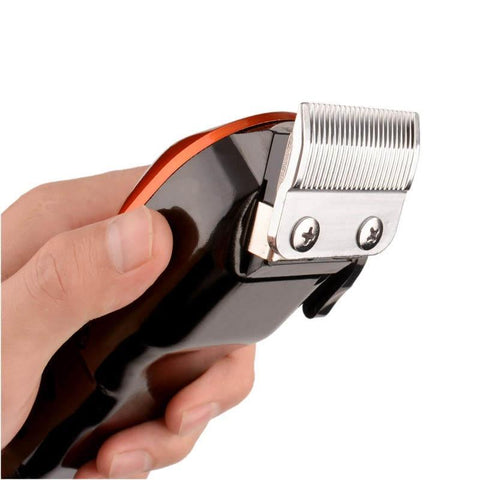 Image of High Power Electric Hair Clipper - Stainless Steel Blade - Barber Cutting-shavercentre.com.au