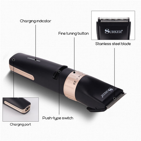 Precision Beard Trimmer - 0.8-2.0mm Adjustable-shavercentre.com.au