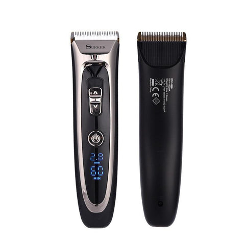 Image of High Precision Hair Clipper -Titanium Ceramic Blade - LED Screen-shavercentre.com.au