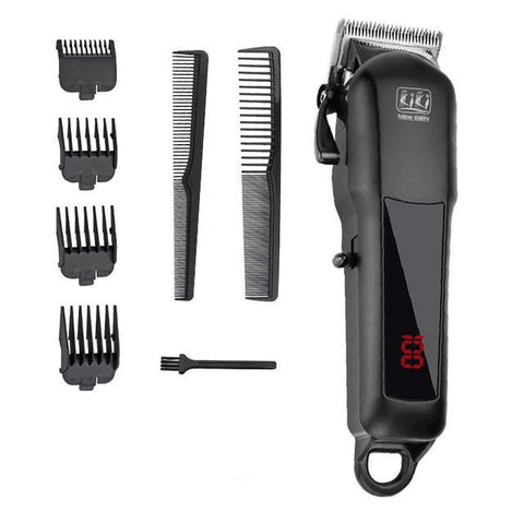 Image of KIKI NEWGAIN rechargeable Professional Hair cutter Hair Trimmer 2000 mAh Lithium battery 100-240V NG-888 NG-777 with Lcd display-shavercentre.com.au