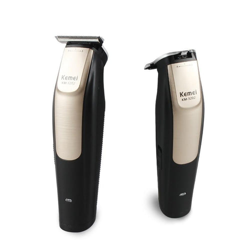 Image of Kemei Baldheaded hair trimmer Electric Hair Clipper Rechargeable Modelling Hair Trimmer Razor Cordless Adjustable Clipper KM3202-shavercentre.com.au