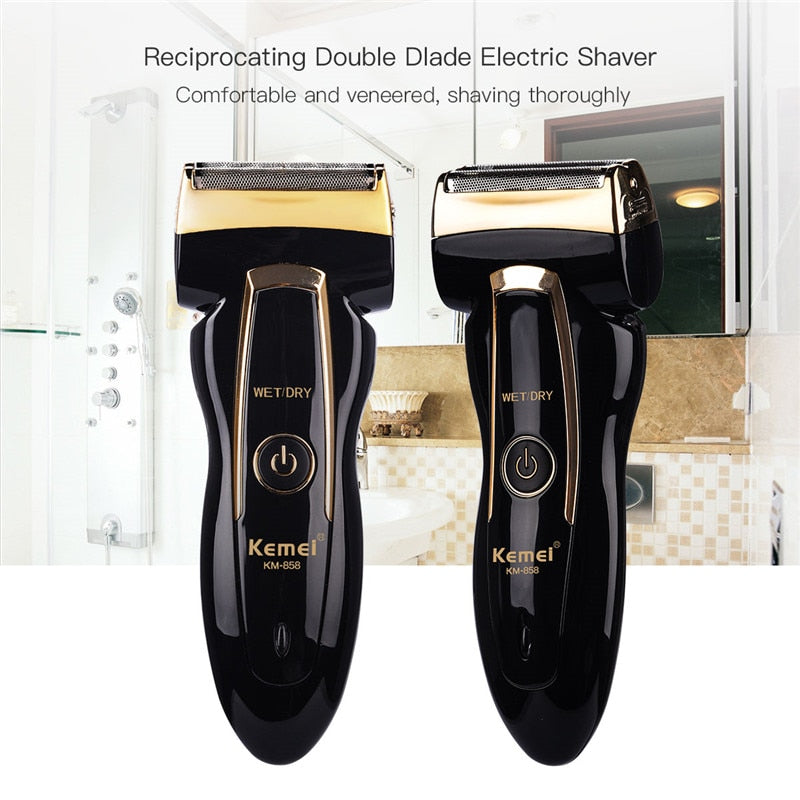 Dual-Head Electric Shaver-shavercentre.com.au