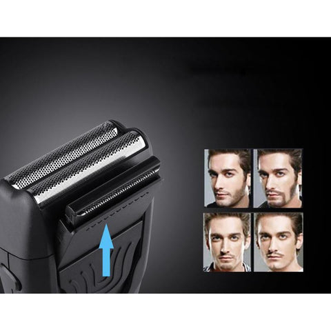 Flexing Dual Foil Electric Shaver-shavercentre.com.au
