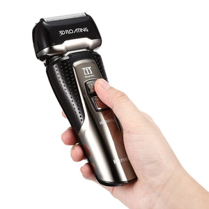 Rechargeable Electric Shaver LCD Screen
