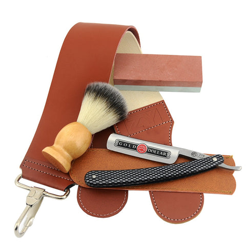 Cut Throat Razor Kit - Sharpening Stone-shavercentre.com.au