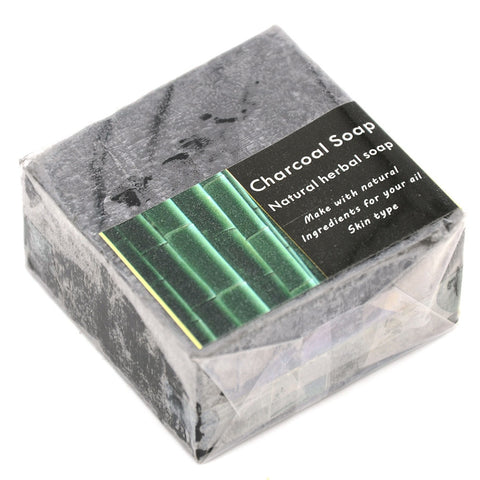 Image of Mens Shaving Soap Bamboo Charcoal Foaming Lather-shavercentre.com.au