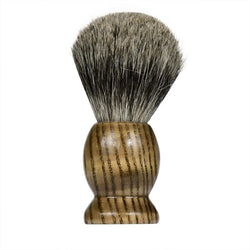 Wood Handle Badger Hair Shaving Brush-shavercentre.com.au