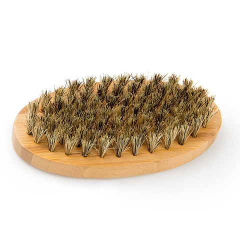 Image of Natural Bamboo Boar Bristle Beard Brush-shavercentre.com.au