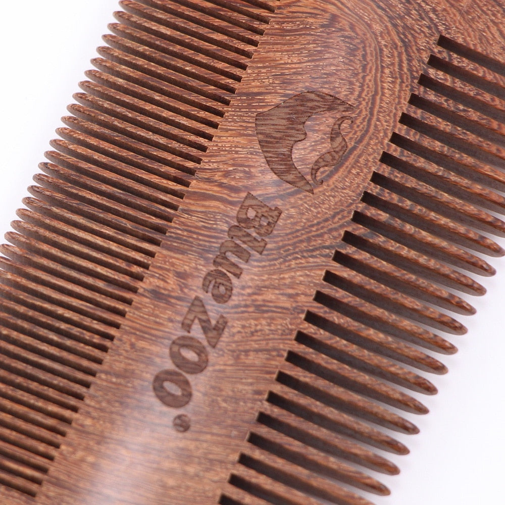 Double Sided Pocket Beard Comb-shavercentre.com.au