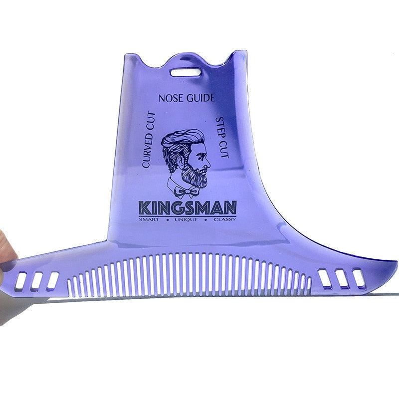 Transparent Beard Shaping Tool-shavercentre.com.au