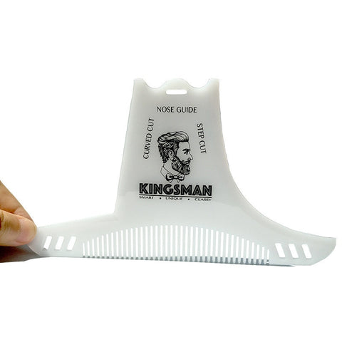 Image of Transparent Beard Shaping Tool-shavercentre.com.au