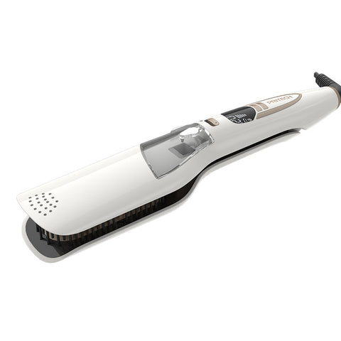 Image of Steam Hair Straightener Brush-shavercentre.com.au