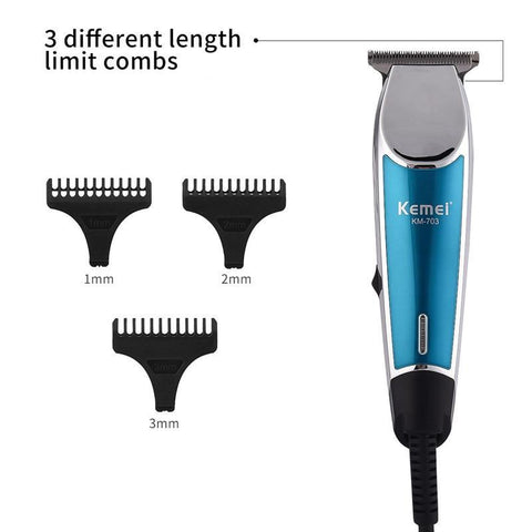 Image of Professional Electric Hair Clipper Rechargeable Cordless Hair Trimmer Beard Shaver Hair Cutting Machine Hair Cutter Barber P42-shavercentre.com.au