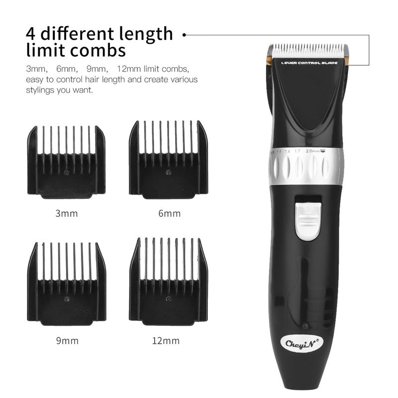 Professional Beard Trimmer - Ceramic Blade - Adjustable - Cordless-shavercentre.com.au