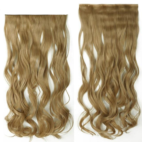 Image of Full Head Curly Hair Extensions-shavercentre.com.au