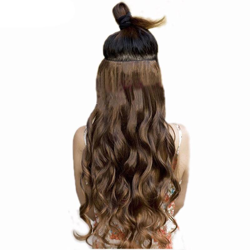 Full Head Curly Hair Extensions-shavercentre.com.au