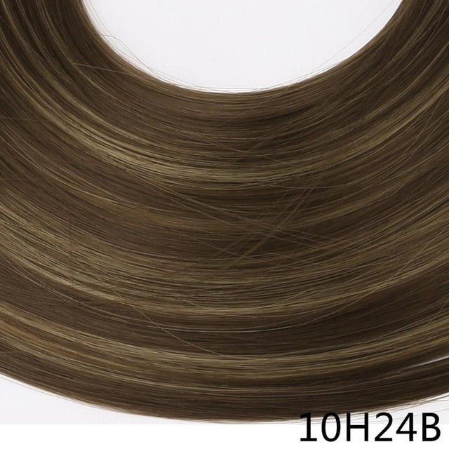 Straight and Wavy U-Part Clip in Hair Extension-shavercentre.com.au