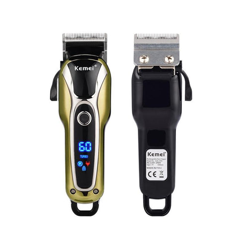 Image of Turbocharged Hair Clipper - LCD Screen - Cordless-shavercentre.com.au