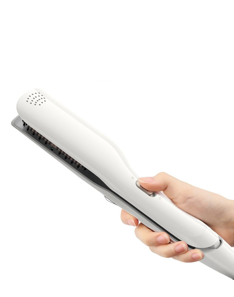 Steam Hair Straightener Brush-shavercentre.com.au