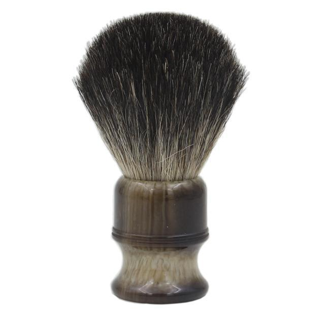 Knot Resin Handle Badger Hair Shaving Brush-shavercentre.com.au