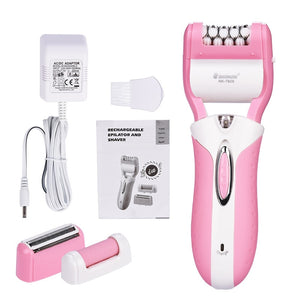 Woman's Epilator Hair Remover 3 in 1
