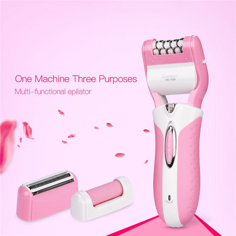 Woman's Epilator Hair Remover 3 in 1-shavercentre.com.au