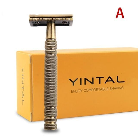 Image of Bronze Classic Safety Razor-shavercentre.com.au