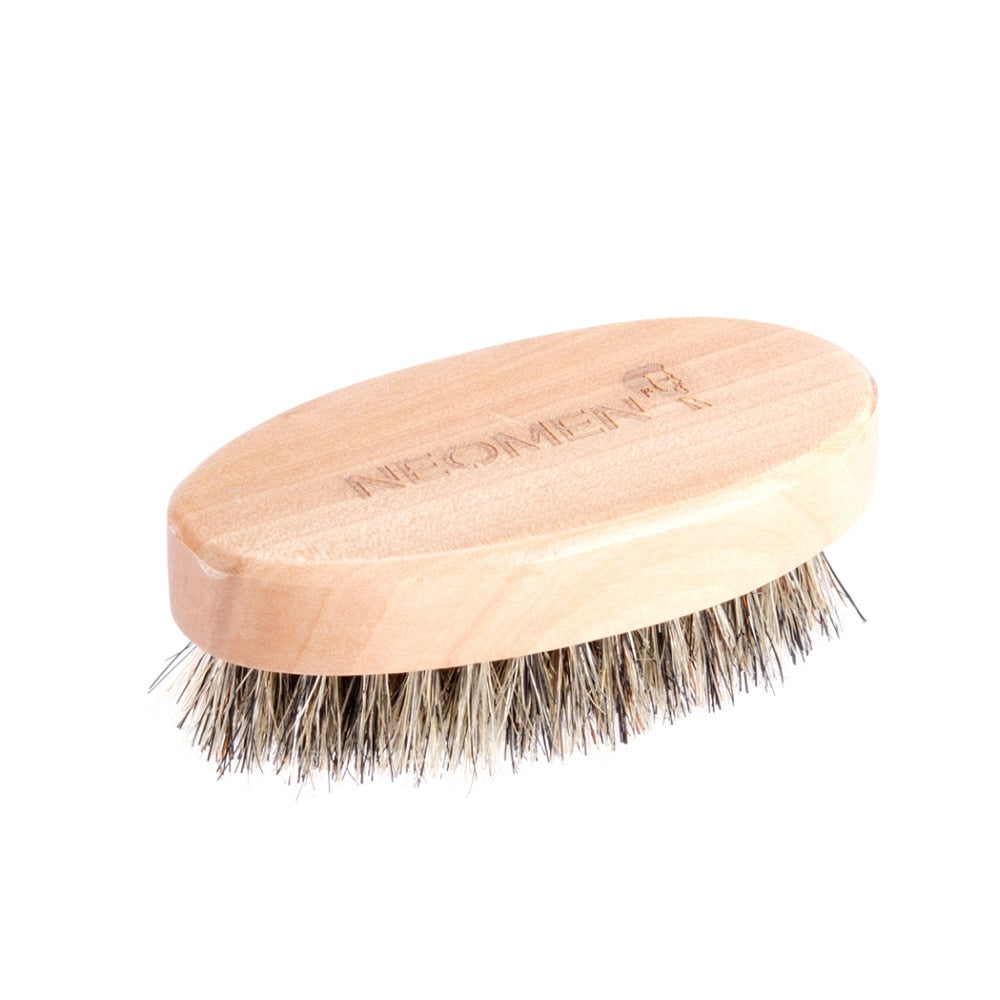 Wood Moustache Brush-shavercentre.com.au