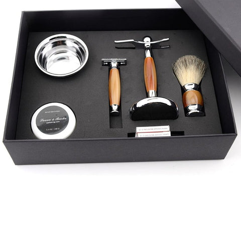 Traditional Safety Razor + Deluxe Shaving Gift Set-shavercentre.com.au