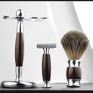 Traditional Safety Razor + Deluxe Shaving Gift Set