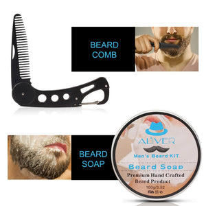 Aliver Deluxe 8 Beard Care Kit