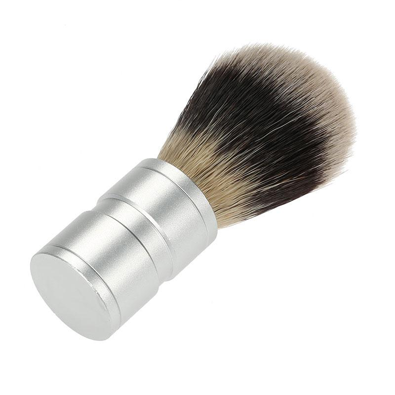 Shaving Brush Aluminum Handle-shavercentre.com.au