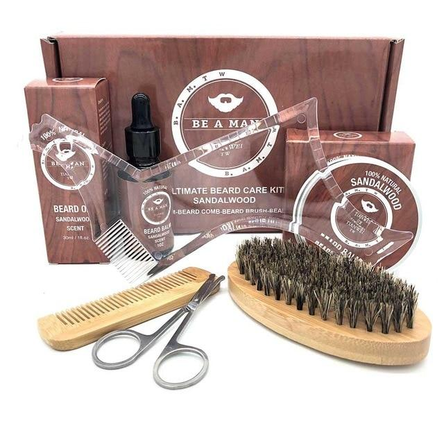 Be A Man Beard Care Kit