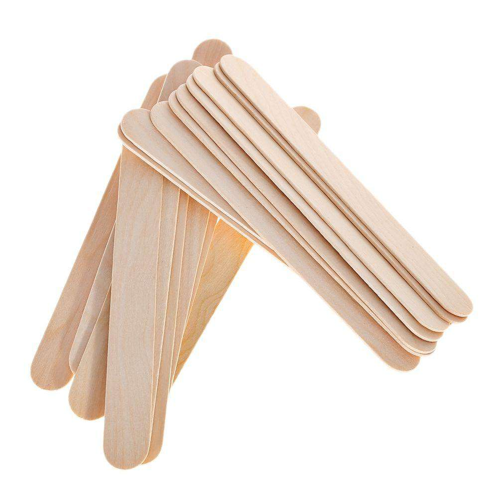 LCD Wax Heater Kit - 200g Hard Wax Beans With 25pcs Wooden Sticks-shavercentre.com.au