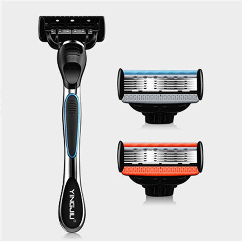 Five Blade Manual Razor With 2 Razors-shavercentre.com.au