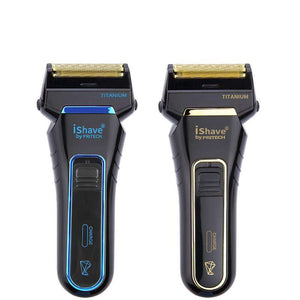 Twin Blade Electric Shaver - Titanium Alloy Blades - USB Charging