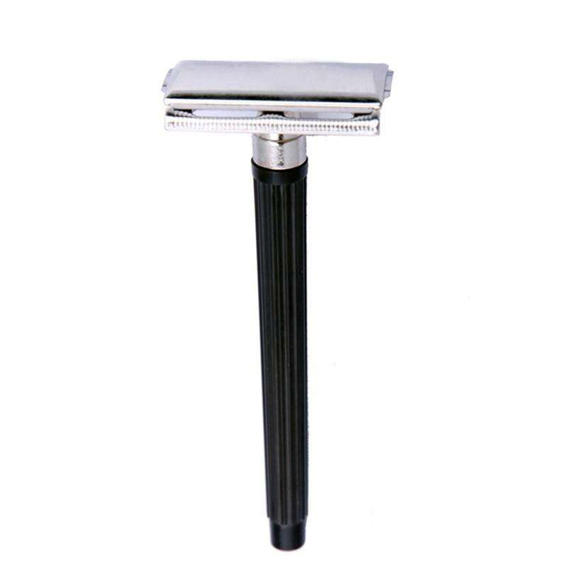Classic Stainless Steel Safety Razor-shavercentre.com.au