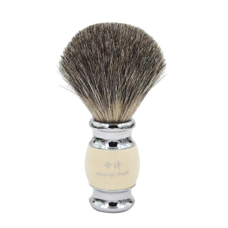 Vintage Badger Shaving Brush-shavercentre.com.au