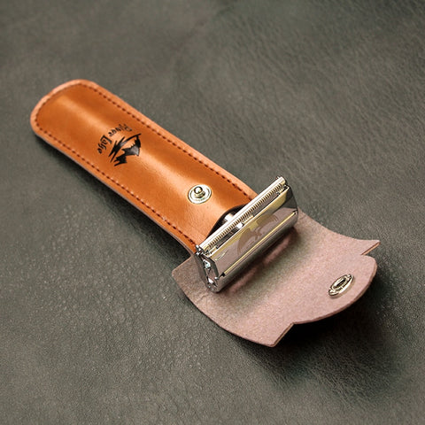 Image of Butterfly Open Classic Safety Razor + 5 Blades-shavercentre.com.au